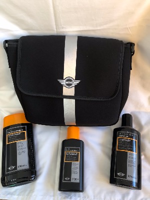 Mini Car Care Kit with Neoprene Carrying Bag