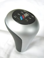 BMW M Brushed Alloy 6 Speed Gear Knob