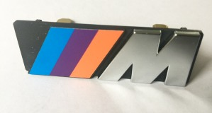 BMW E30 M Grille Badge Early Flat Style