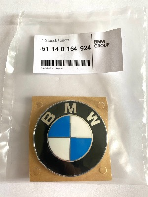 BMW E36 Convertible Boot, Trunk & Motorcycle Side Panel Badge 51148164924