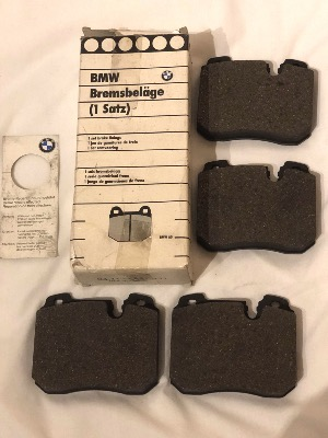 BMW E34 M5 E31 850CSi Front Brake Pads 34112227331