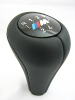 BMW M Black Leather 5 Speed Gear Knob