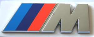 BMW M Badge Early Flat Style