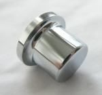 BMW Chrome Radio Knob E46 Z4 E85 E86