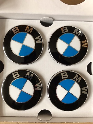 BMW Floating or Self Levelling Centre Caps - Set of 4