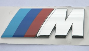 BMW M Badge Late Curved Style