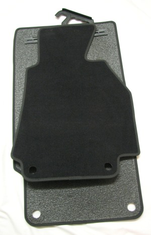 BMW Z3 Jan 1996 - July 2001 Anthracite OEM Mats
