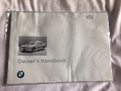 BMW E36 M3 Owners Handbook 01419789941